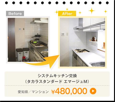 タカラスタンダード エマージュM/愛知県/マンション/¥480,000